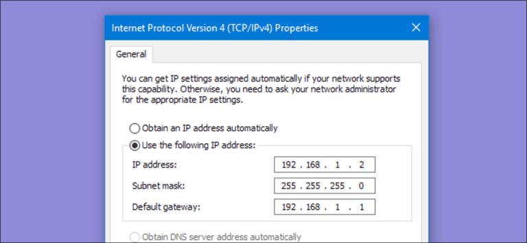 Cómo asignar una dirección IP estática en Windows 7, 8, 10, XP o Vista