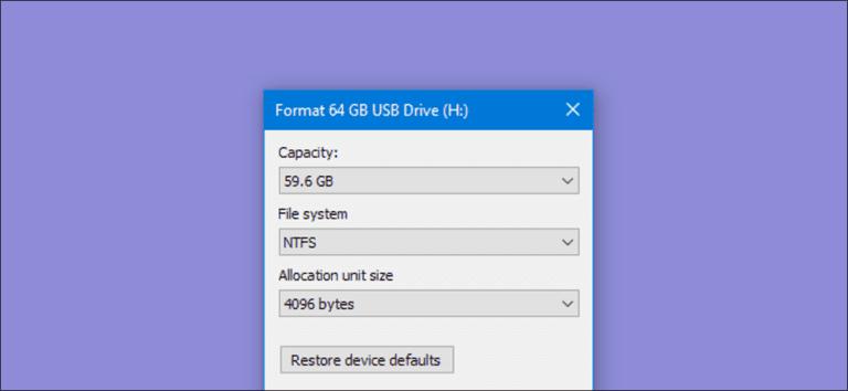 Cómo borrar y formatear una unidad en Windows
