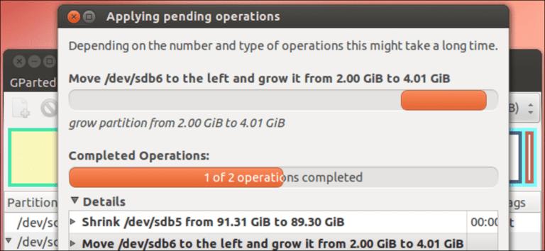 Cómo cambiar el tamaño de sus particiones de Ubuntu