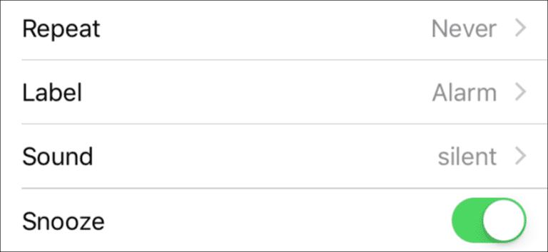 Cómo configurar una alarma de iOS que vibrará, pero no sonará