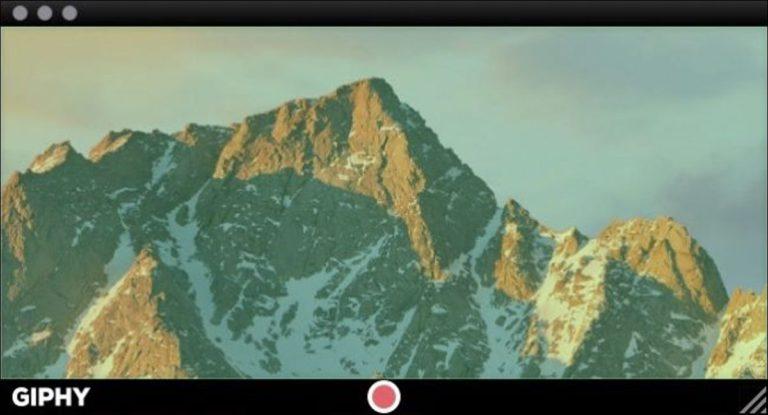 Cómo convertir la pantalla de tu computadora en un GIF animado
