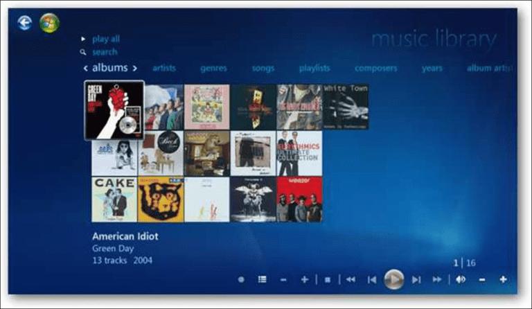 Cómo copiar CD de música en Windows 7 Media Center