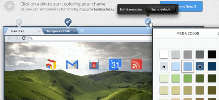 Cómo crear fácilmente su propio tema de Google Chrome