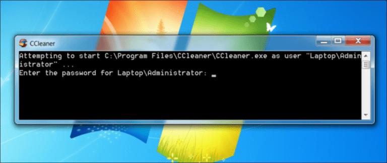 Cómo crear un acceso directo que permita a un usuario estándar ejecutar una aplicación como administrador
