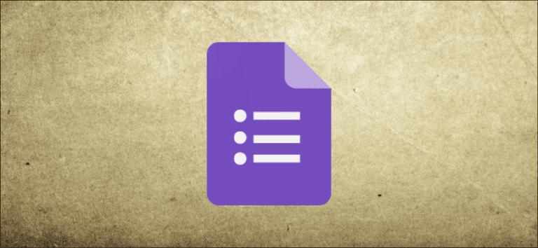 Cómo crear un formulario de contacto para un sitio web con Formularios de Google