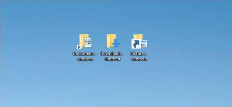 Cómo eliminar (o cambiar) flechas en los iconos de acceso directo en Windows 7, 8 y 10