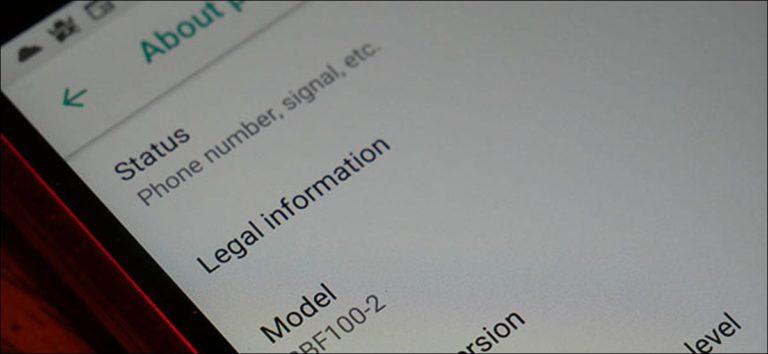 Cómo encontrar el número de serie de su dispositivo Android