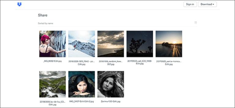 Cómo enviar fotos de alta calidad en línea