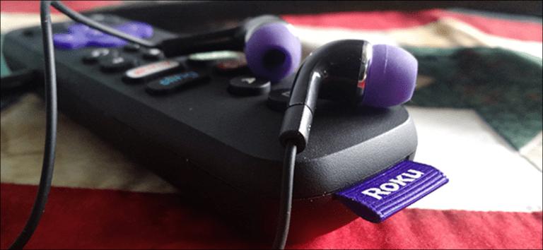 Cómo escuchar audio de su Roku en auriculares y parlantes al mismo tiempo