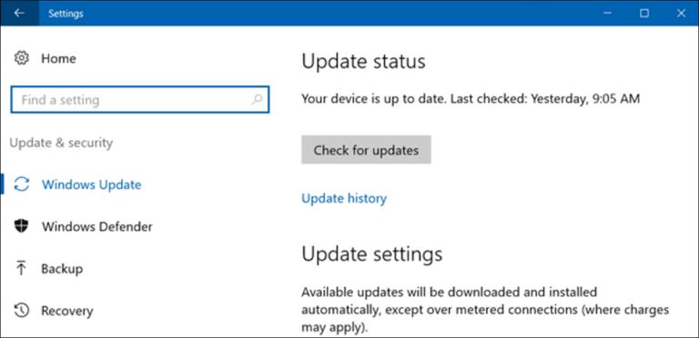Cómo evitar que Windows 10 descargue actualizaciones automáticamente