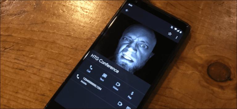 Cómo grabar una llamada de conferencia (y contraseña) como contacto
