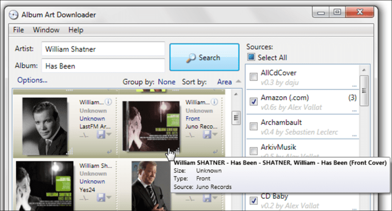 Cómo obtener la carátula completa del álbum para tu biblioteca de música