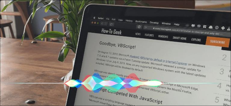 Cómo pedirle a Siri que le lea artículos en su Mac