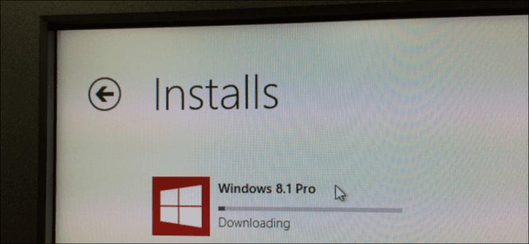 Cómo realizar una instalación limpia de Windows 8.1 con una clave de Windows 8