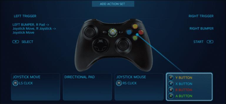 Cómo reasignar los botones de Xbox, PlayStation y otros controladores en Steam