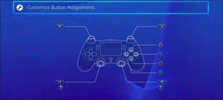 Cómo reasignar los botones en su controlador de PlayStation 4