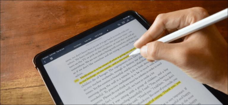 Cómo resaltar y anotar archivos PDF en su iPad