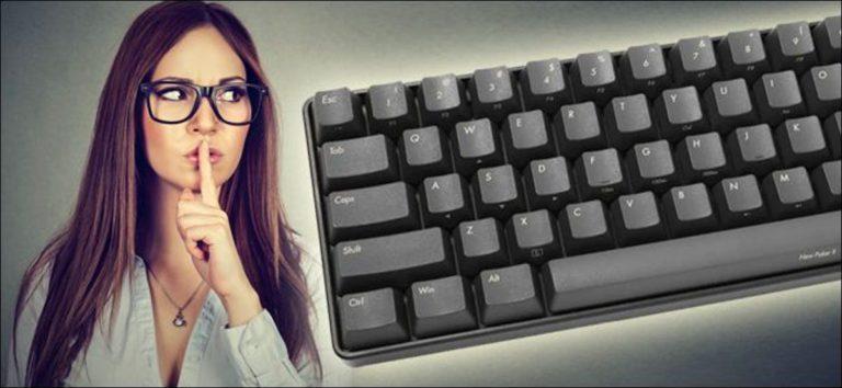 Cómo «silenciar» tu ruidoso teclado mecánico