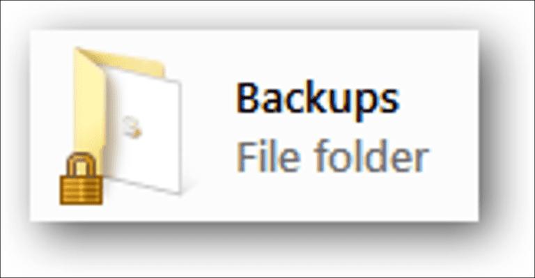 Elimine el icono de candado de una carpeta en Windows 7, 8 o 10