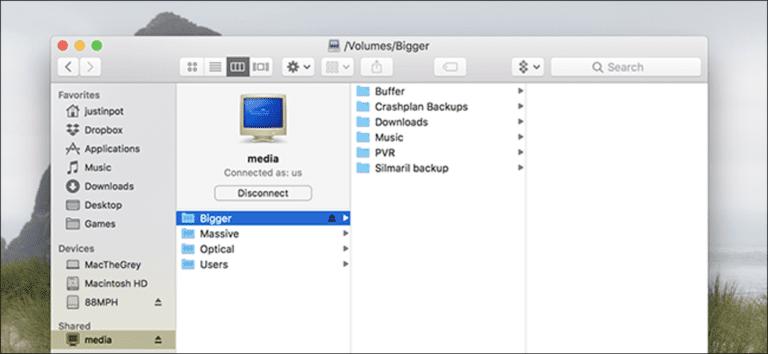 Monte un recurso compartido de Windows en macOS y vuelva a conectarlo al conectarse