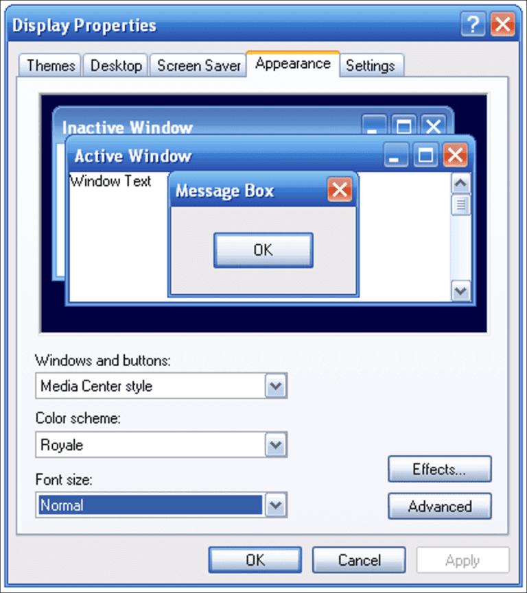 Temas no oficiales de Windows XP creados por Microsoft