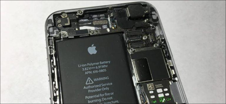 ¿Es difícil reemplazar la batería de un iPhone?