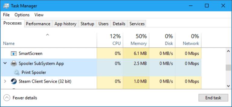 """¿Qué es """"Spooler SubSystem App"""" (spoolsv.exe) y por qué se está ejecutando en mi PC?"""
