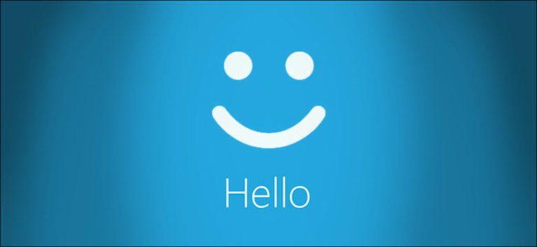 ¿Qué es el inicio de sesión de Windows Hello en Windows 10?