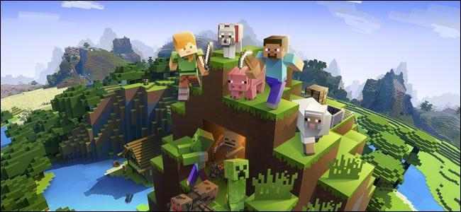 Minecraft juego de mundo abierto