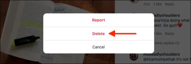 Haga clic en el botón Eliminar