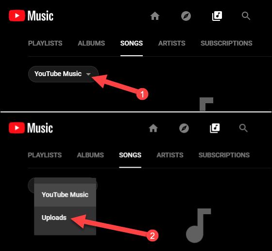 descargas de la biblioteca de música de youtube