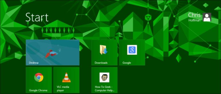 6 formas de personalizar la pantalla de inicio de Windows 8