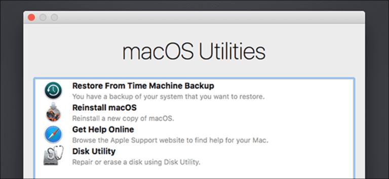 8 funciones del sistema Mac a las que puede acceder mientras está en modo de recuperación