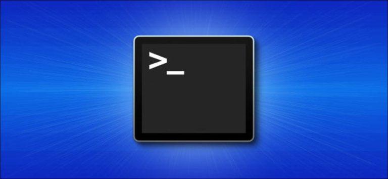 Cómo abrir Terminal en una Mac