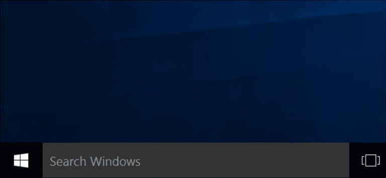 Cómo apagar Cortana en Windows 10