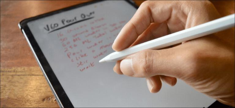 Cómo cambiar la acción de doble clic en Apple Pencil para iPad Pro