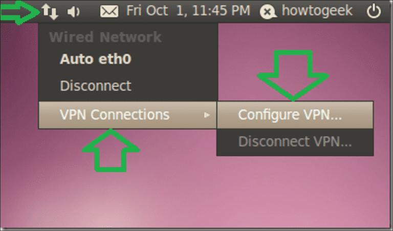 Cómo configurar un cliente VPN de túnel dividido (PPTP) en Ubuntu 10.04