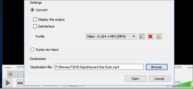 Cómo copiar DVD con VLC