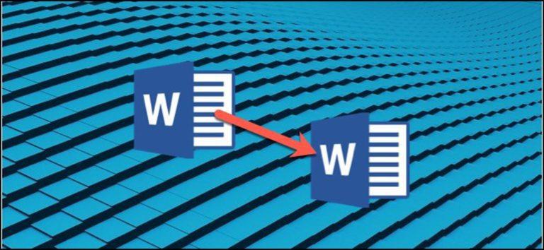 Cómo crear una plantilla en Microsoft Word