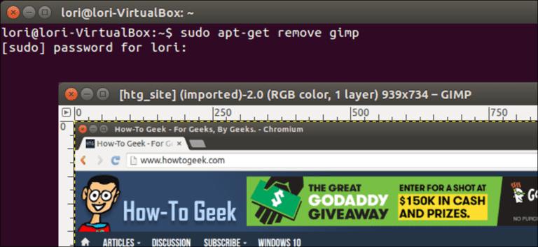 Cómo desinstalar software usando la línea de comando en Linux