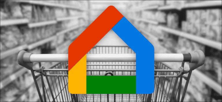 Cómo elegir la aplicación de la lista de compras en la aplicación Google Home