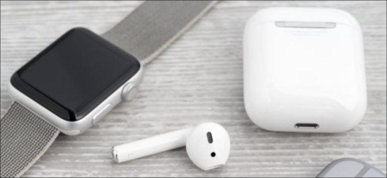 Cómo emparejar AirPods con un Apple Watch