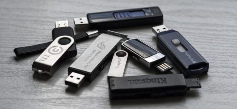 Cómo encontrar la unidad USB que falta en Windows 7, 8 y 10