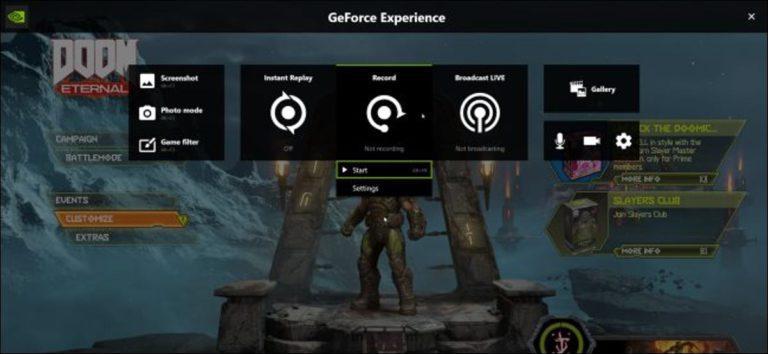 Cómo grabar el juego de tu PC con NVIDIA ShadowPlay