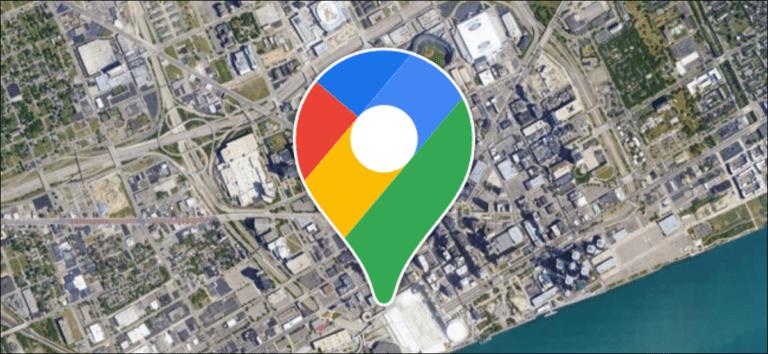 Cómo iniciar Google Maps en la vista de satélite