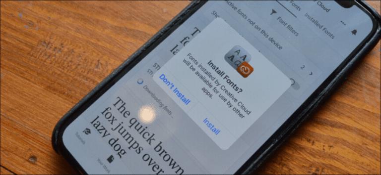 Cómo instalar fuentes personalizadas en tu iPhone o iPad