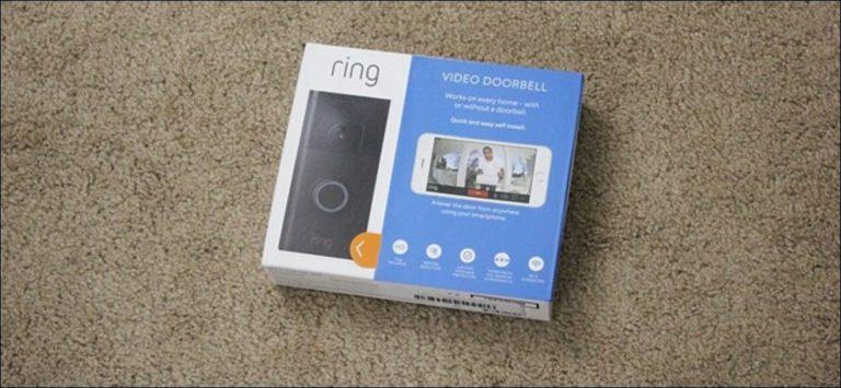 Cómo instalar y configurar Ring Video Doorbell