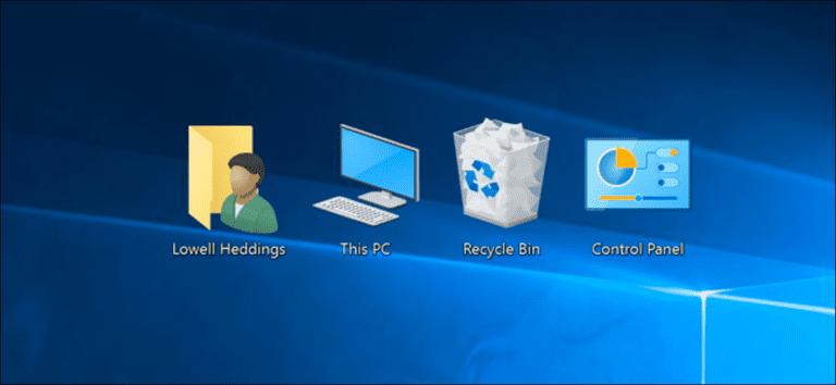 Cómo mostrar el icono «Mi PC» en el escritorio en Windows 7, 8 o 10