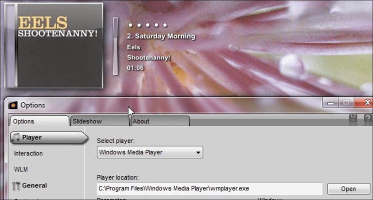 Cómo mostrar la carátula del álbum de la canción que se está reproduciendo actualmente en su escritorio