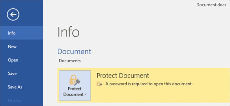 Cómo proteger con contraseña documentos y archivos PDF con Microsoft Office